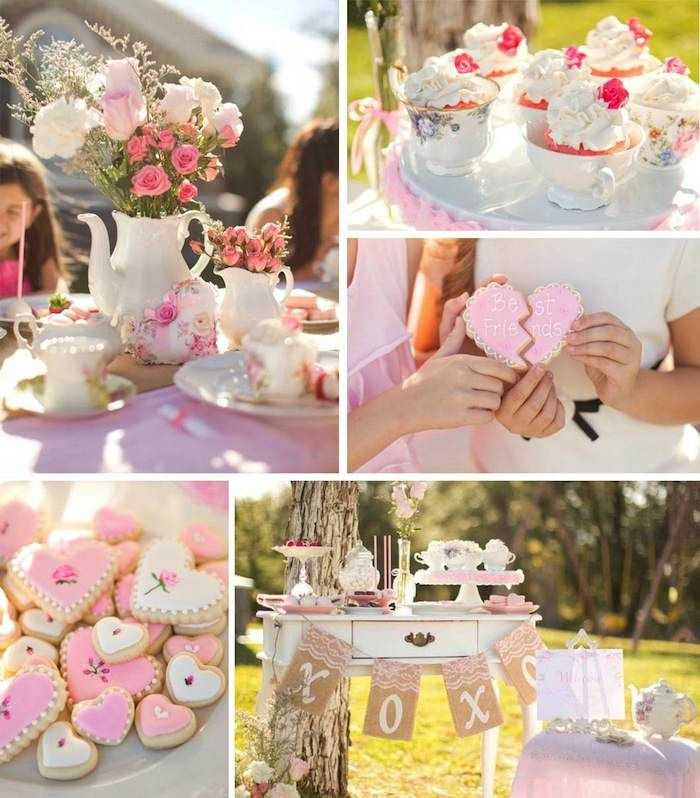 Valentineu0027s Tea Party Ideas Supplies Decor 69
