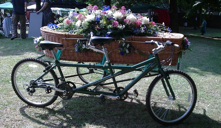 bicycles for sale | ... , he who begat Motorcycle Funerals, has a bicycle hearse for sale