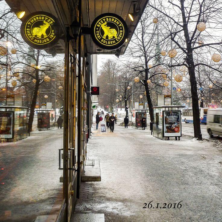 Tampere_Hämeenkatu. Kuvaaja:Seppo Vuorinen