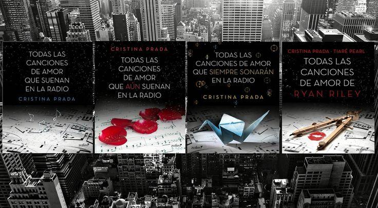 Trilogia todas Las canciones de amor q suenan en la ràdio mas el libro contado por Ryan con escenas indeditas y dibujos espectaculares de Tiaré Pearl