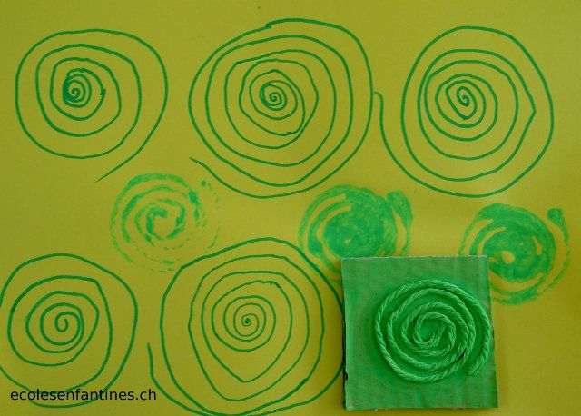 ecoles enfantines - Spirales, spirales, spirales