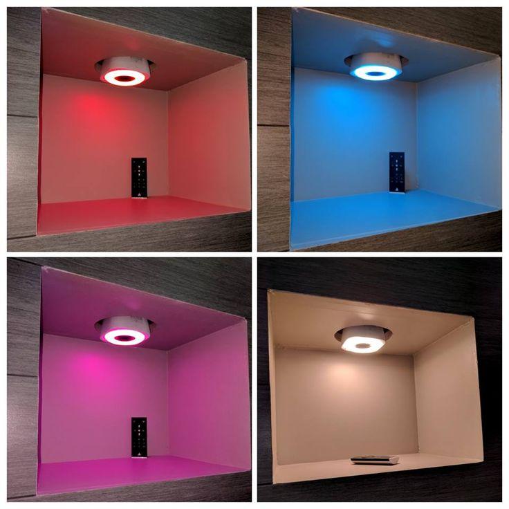 les 25 meilleures id es de la cat gorie ampoule led couleur sur pinterest lumi re pendante. Black Bedroom Furniture Sets. Home Design Ideas