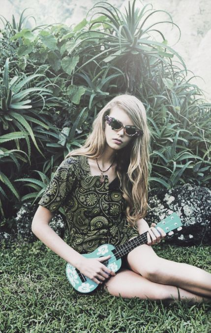 Ondria Hardin photographed by Damon Heath for Lula (Spring/Summer 2012).