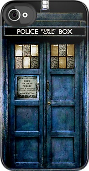 One of the few things that would tempt me to get an iPhone, if I could afford it.  Tardis doctor who iphone 4 4s, iPhone 3Gs, iPod Touch 4g case