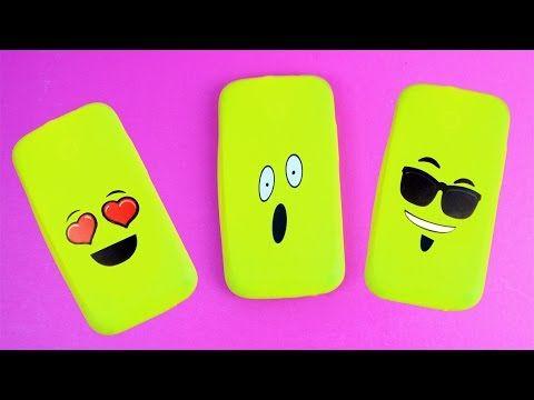DIY   How to make an emoji Balloon Phone Case - 5 minutes craft - YouTube