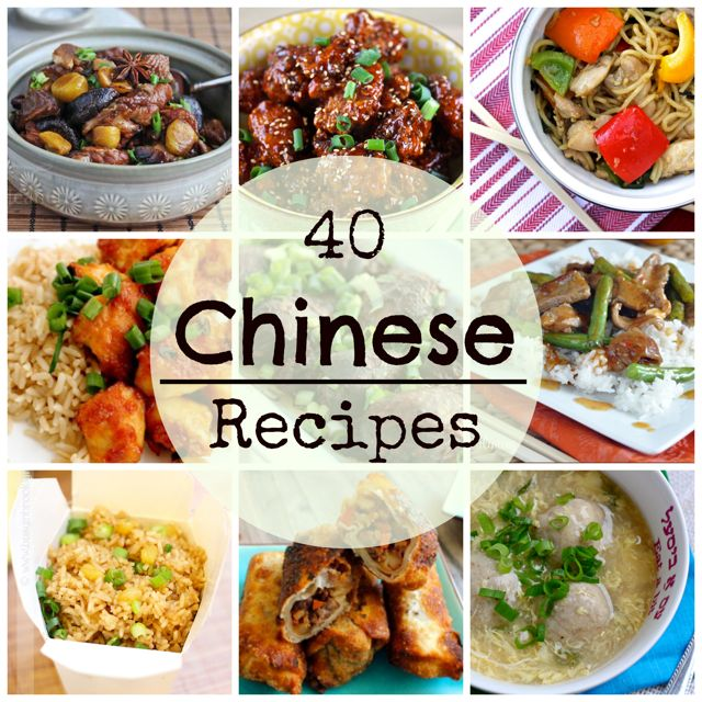 17 best images about chinese food on pinterest homemade small 40 chinese food recipes forumfinder Images
