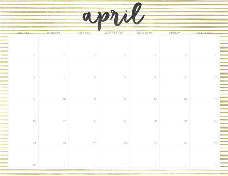 FREE 2017 Printable Calendars