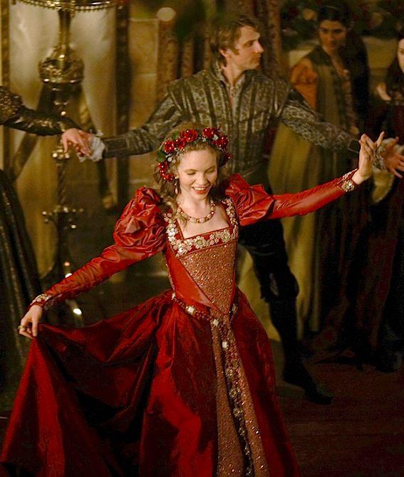 Tamzin Merchant as Catherine Howard in The Tudors
