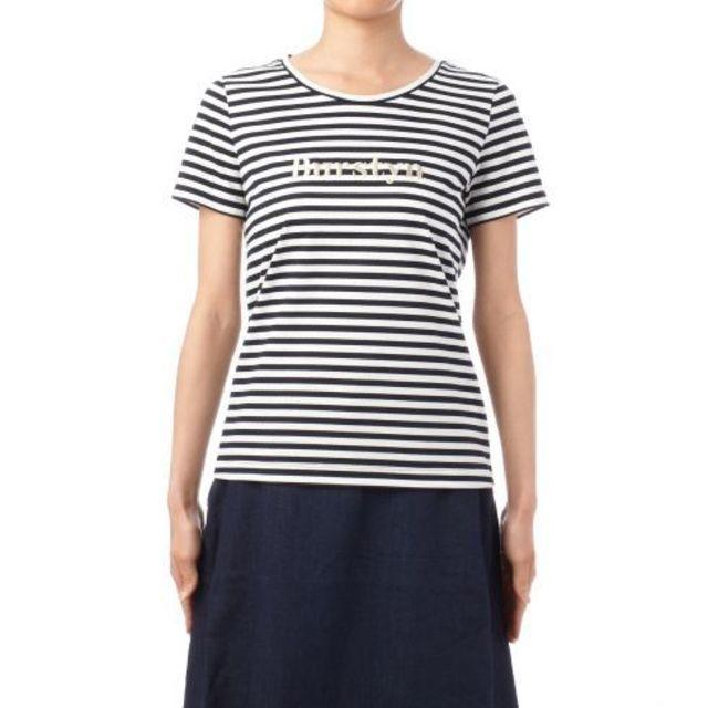【[L]ボーダークルーネックTシャツ】UNTITLED