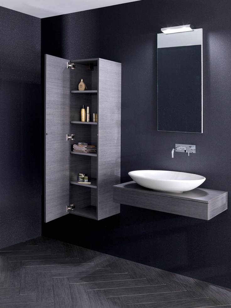 shades bathroom furniture uk%0A Edge Steel Bathroom Furniture Range from Crosswater http   www bauhaus bathrooms