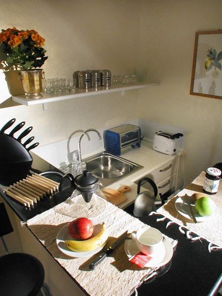YELLOW Apartment - Kitchenette