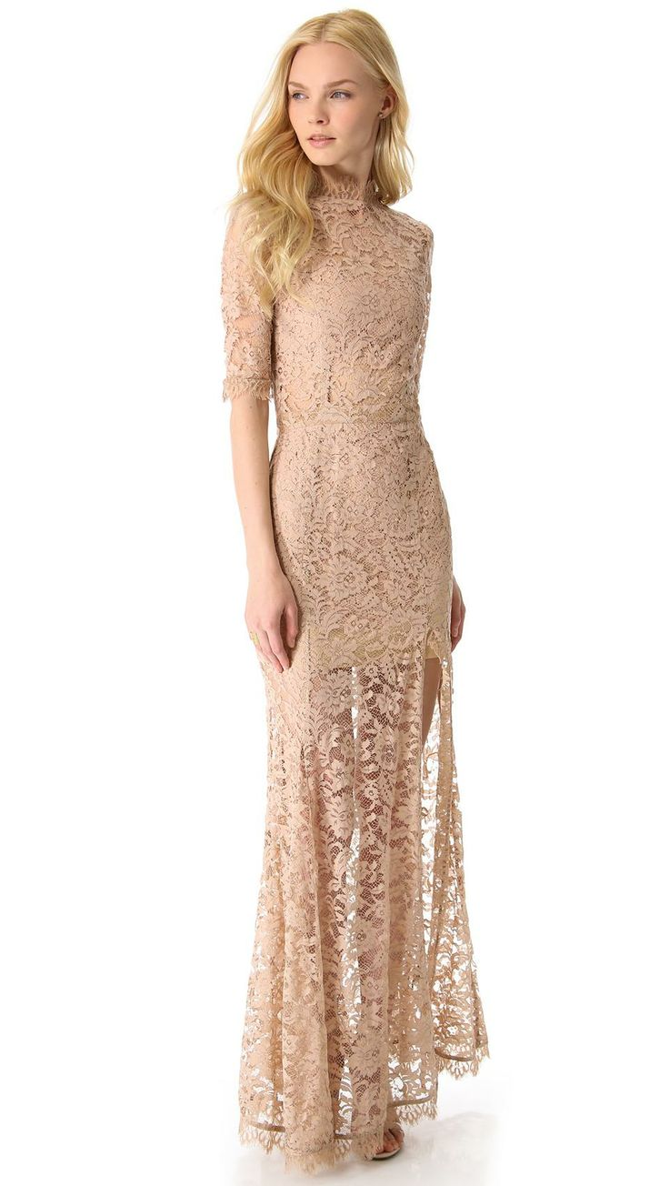 ONE by Femme D'armes Bailey Lace Gown | womens gown | style | fashion | wantering http://www.wantering.com/womens-clothing-item/bailey-lace-gown/psp3UygQ/