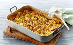 Flødekartofler Flødekartofler er som oftest et hit og så kan du servere dem til alverdens kød.