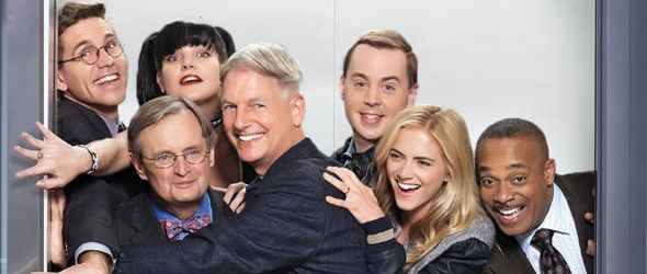 """Cast der Serie """"NCIS"""" (c) The elevator can get crowded at time's."""