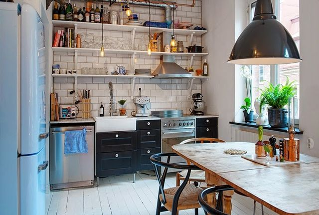 Tiny Swedish Apartment (via Bloglovin.com )