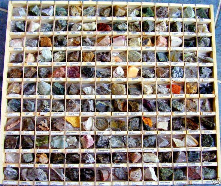 Rock Collection Display | Why do people collect things? There are probably as many reasons for ...