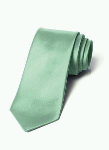Men's Wedding Tuxedo Tie in Mint Green for Groom