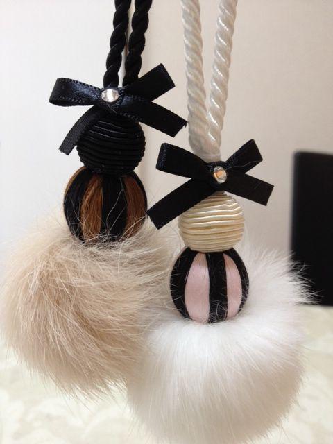 Glam ornaments - DIY
