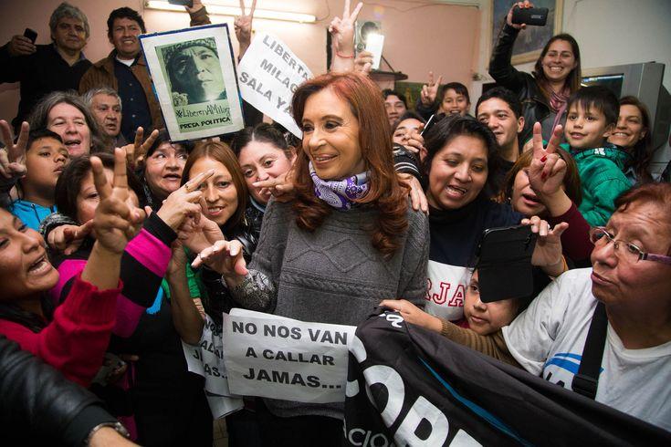 Cristina Kirchner en Ensenada, EN VIVO