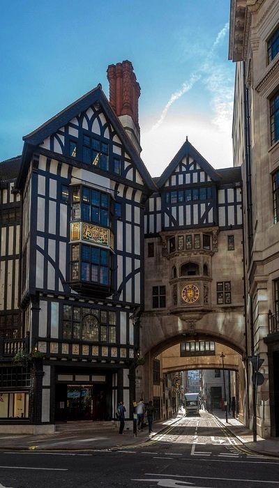 Liberty & Co. Store on Regent Street, London, England (by MomentaryShutter…