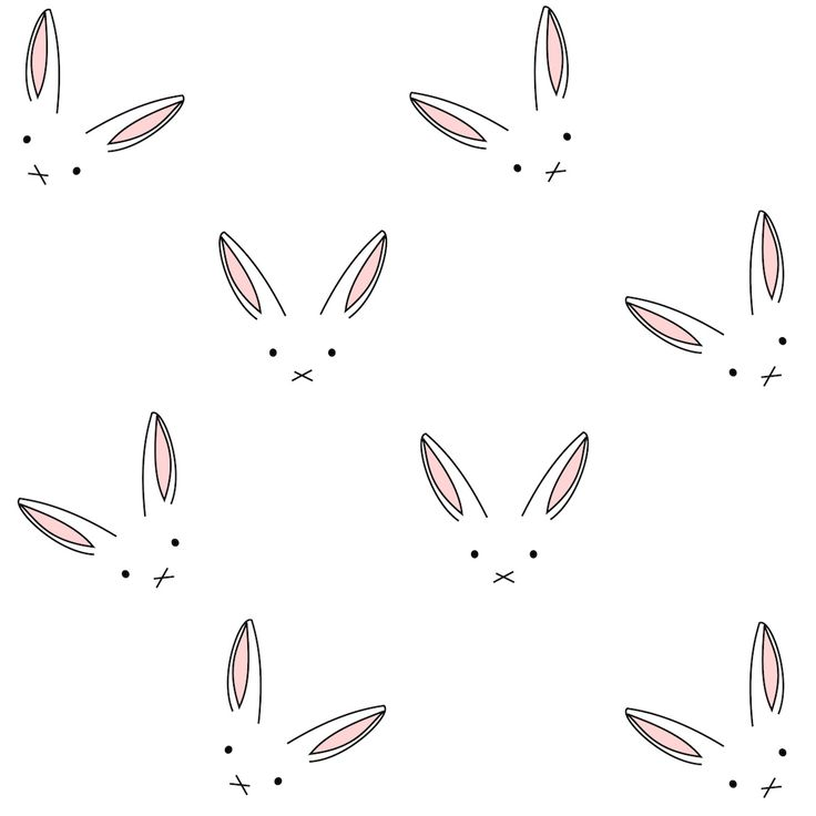 digital_bunny_line_art_paper.jpg (1200×1200)