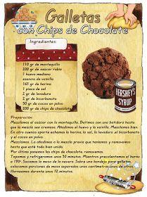 Tartas, Galletas Decoradas y Cupcakes: Cookies con Chips de Chocolate
