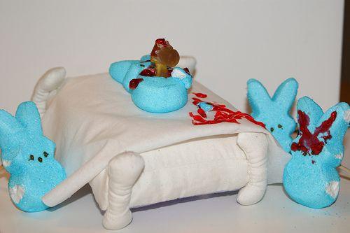 http://www.neatorama.com/2011/04/08/13-hilarious-peeps-candy-easter-dioramas/