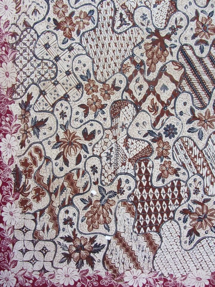 Banyumasan Batik. Handrawn and vintage from Central Java, Indonesian