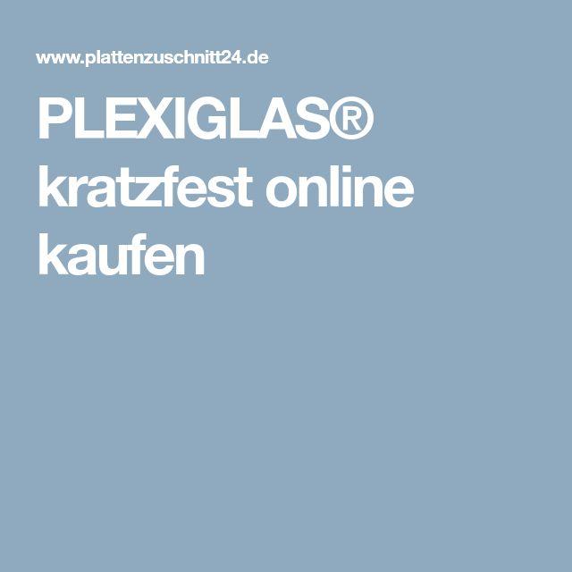 PLEXIGLAS® kratzfest online kaufen