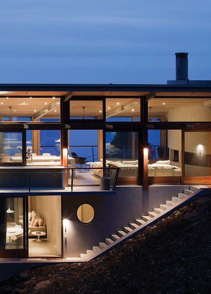 """Ocean House is a five-bedroom """"holiday house"""" created by award-winning Australian architect Rob Mills."""
