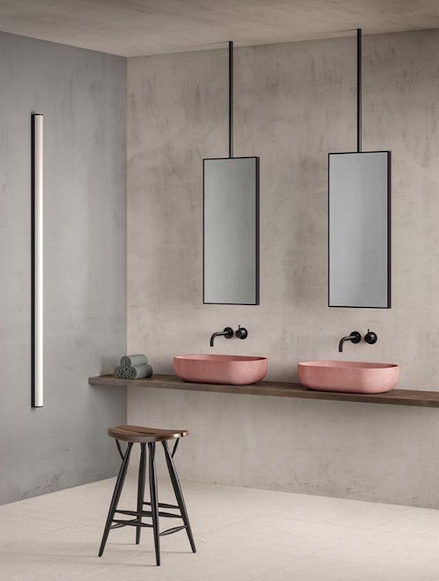 home inspiration: PINK BATHROOMS  see more here http://bellamumma.com/2017/12/home-inspiration-pink-bathrooms.html?utm_campaign=coschedule&utm_source=pinterest&utm_medium=nikki%20yazxhi%20%40bellamumma&utm_content=home%20inspiration%3A%20PINK%20BATHROOMS #decor #home #interiordesign