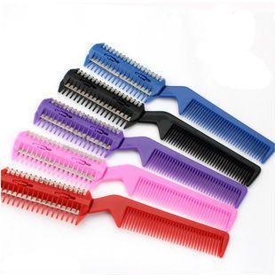 2 way professional salon barber hair cutter / comb 15pcs/lot