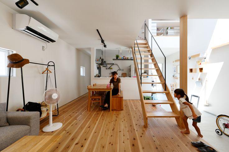 統一感のある家具で揃えたお家。