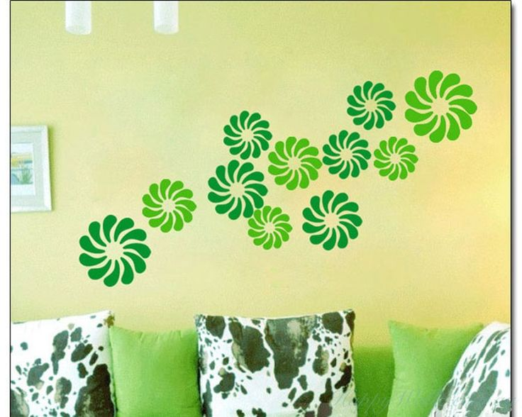 Flowers Pattern Decal