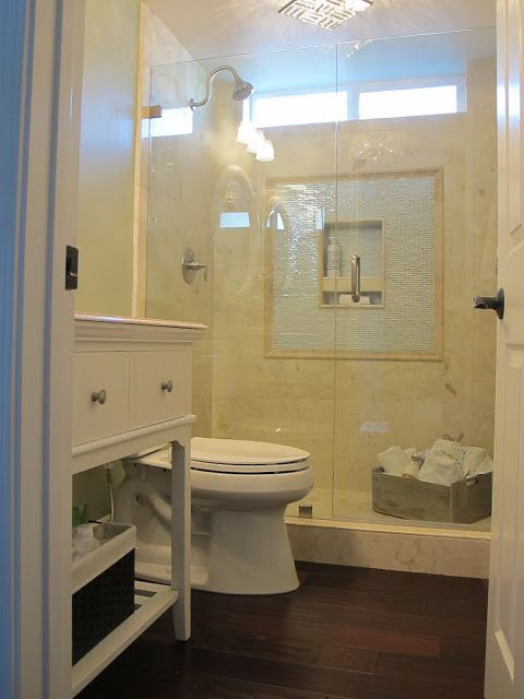 Rustic elegant home tour marble showers marbles and for Elegant small bathrooms