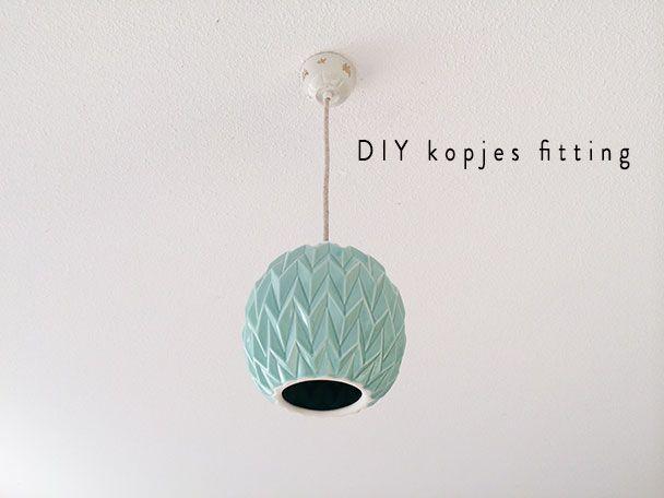 Wonen | DIY lampen fitting