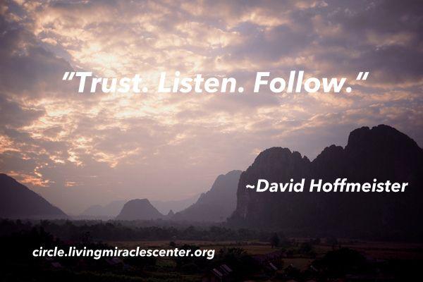 David Hoffmeister Quote