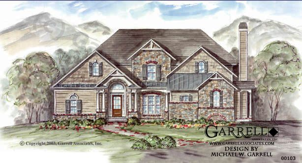garrell associates inc emerson cottage house plan