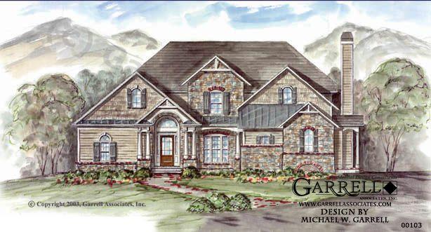 Garrell Associates Inc Emerson Cottage House Plan