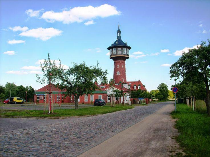 ehemaliger Wasserturm Schwedt- jetzt ein Hotel und Restaurant - Ferienwohnung…