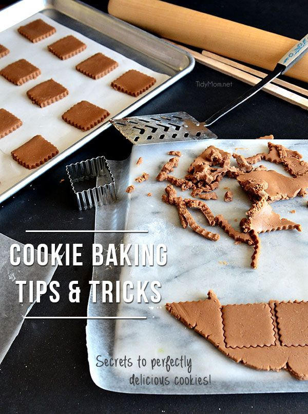 Cookie baking secrets for perfectly delicious cookies every time. Cookie Baking Secrets at TidyMom.net