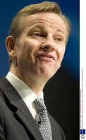 Michael Gove, what are you thinking?