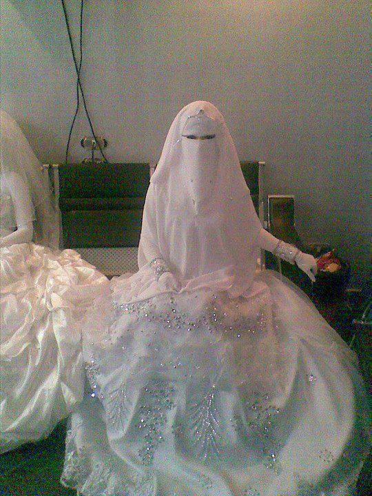 NIQABI....BRIDE...PARTAGE OF MsJ AMANO....