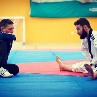 #TeamBeardbrand's Damon Sansum (@damonsansum) is a martial artist, Olympic hopeful, and #beardsman. Check out the UK-based athlete's interview with @urban beardsman now at urbanbeardsman.com! #urbanbeardsman #taekwondo #rioolympics #2016olympics #athlete #beards #beardbrand