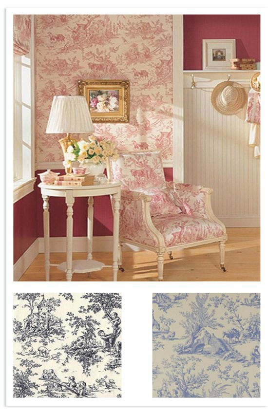 Shabby chic on friday: la carta da parati