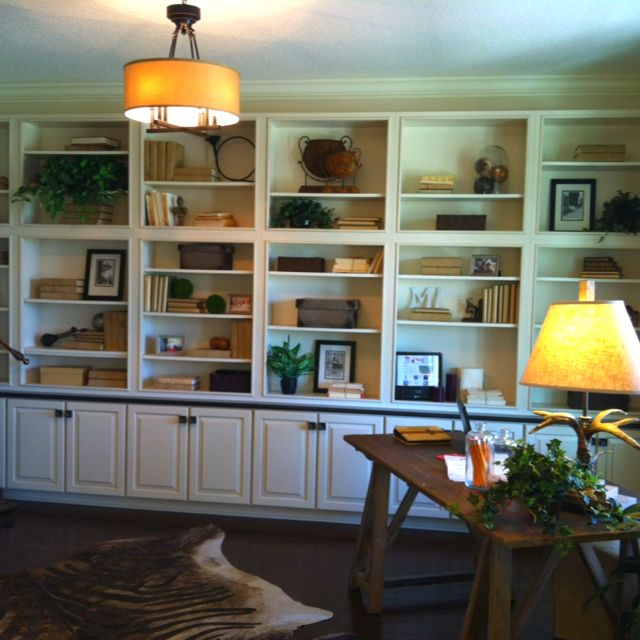 I Love This Idea Of Converting A Non Used Formal Living Room Into A Library Office For The