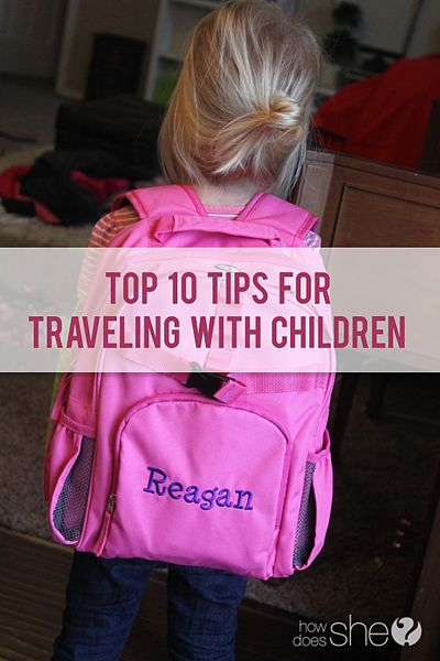Top 10 Tips for Traveling with Children  Traveling with children. Do those words make you smile at the thought of family togetherness and long-last memorie