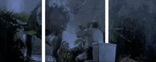 Awesome 3D Jurassic Park Gif