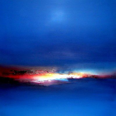 Will's Art Warehouse - Elaine Jones - Blue Study