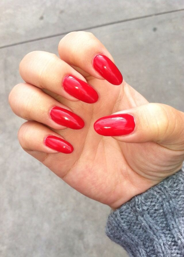 Gel nails! Try it, it helps your nails grow long and it's ...